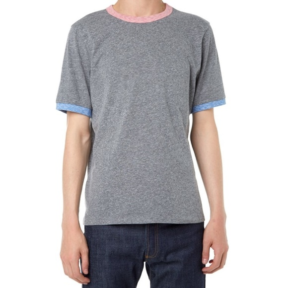 6956a76935b Band of Outsiders Contrast Ringer Tee Shirt